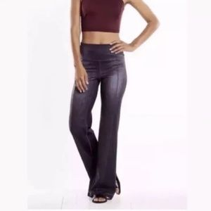 272c866aeffa2 Lucy Pants | Tech Navy Blue Yoga Boot Cut Flare Sm | Poshmark